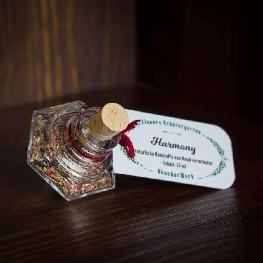 "Räuchermischung ""Harmony"" – ein RäucherWerk aus Elanors Kräutergarten"
