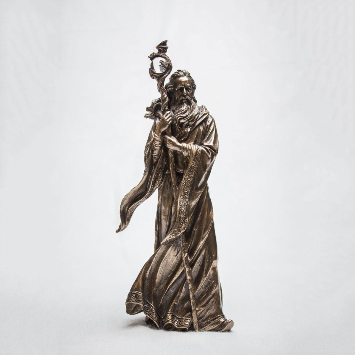Figur Zauberer Merlin - 47 cm