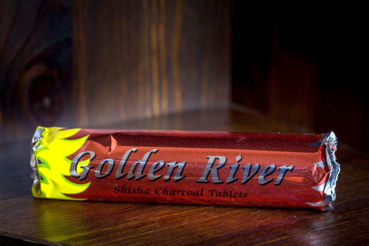 Golden River Shishakohle eignet sich vorzüglich zum Räuchern von unserem RäucherWerk aus Elanors Kräutergarten