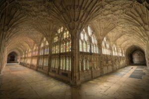 Heilige Geometrie in der Architektur - Gloucester Kathedrale