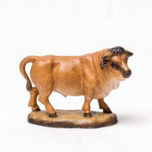 Figur Krafttier Stier aus Holz - Handarbeit aus Tirol