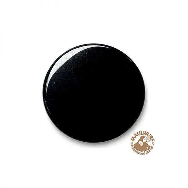 Obsidian-Spiegel 7-8 cm