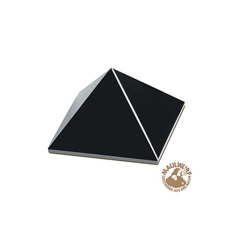 Obsidian-Pyramide in Geschenkbox, ca. 3 cm