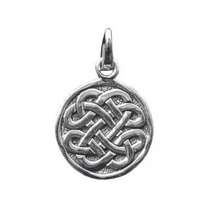 Anhänger Keltischer Achtfachknoten Silber