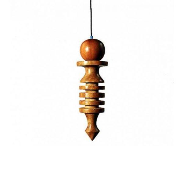 Pendel aus Holz ca. 4cm lang.