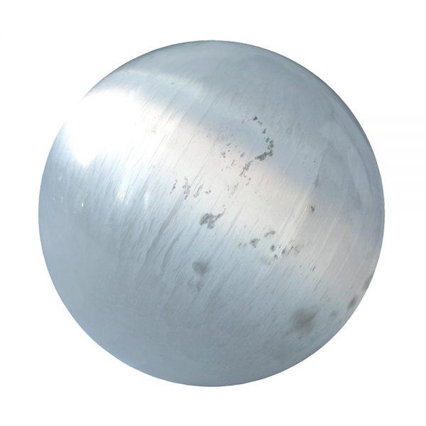 Selenit Kugel mit 6 cm Durchmesser