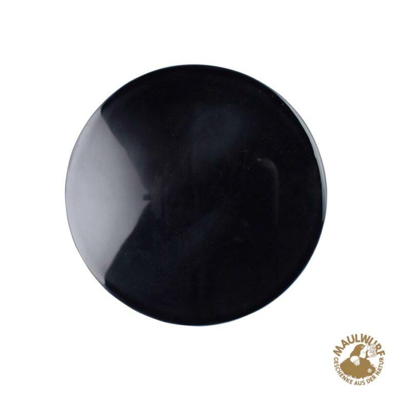 Obsidian-Spiegel 12 cm
