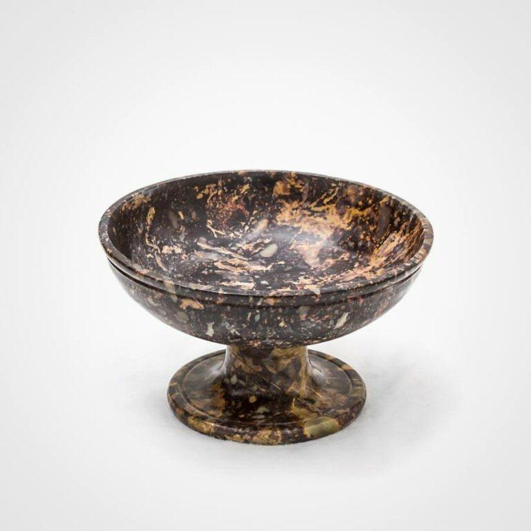 Ninive - Kleiner Kelch aus Speckstein als Räucherschale oder Ritualkelch