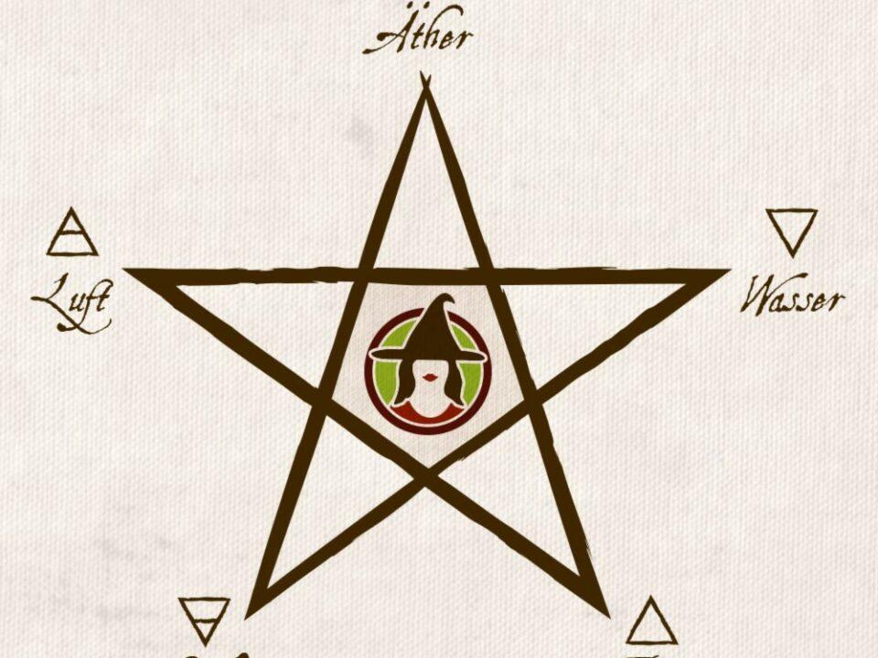 Das Pentagramm und die 5 Elemente