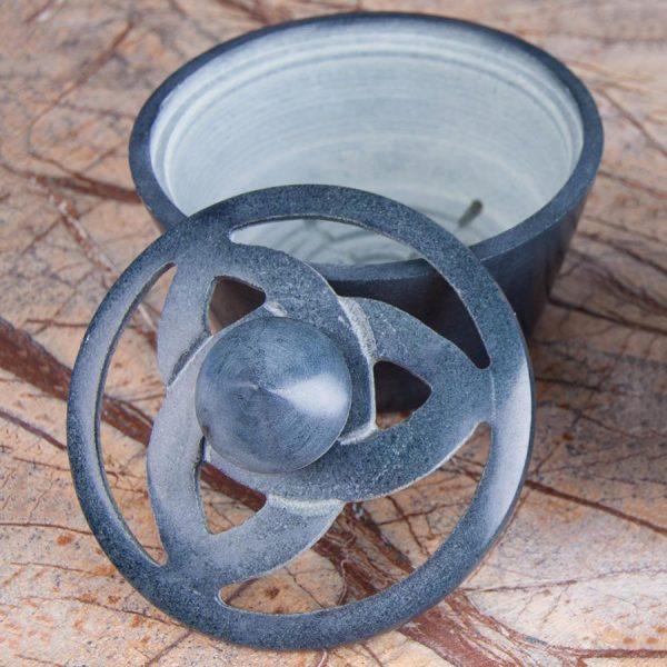 Räuchergefäß aus Speckstein - Keltischer Knoten