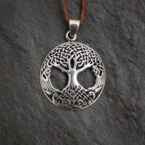 "Anhänger ""Keltischer Lebensbaum"" aus 925er Sterling-Silber"