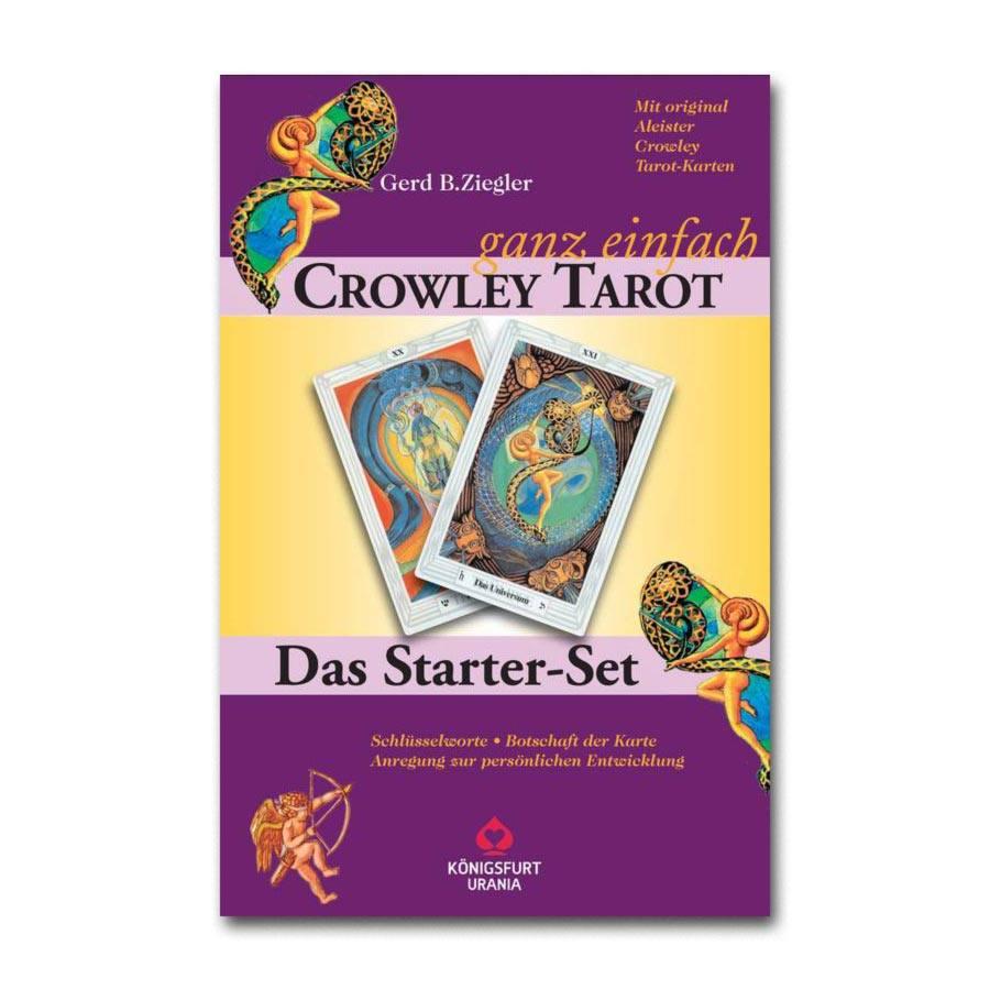 Crowley Tarot - ganz einfach: Karten mit Anleitungsbuch von Gerd Ziegler