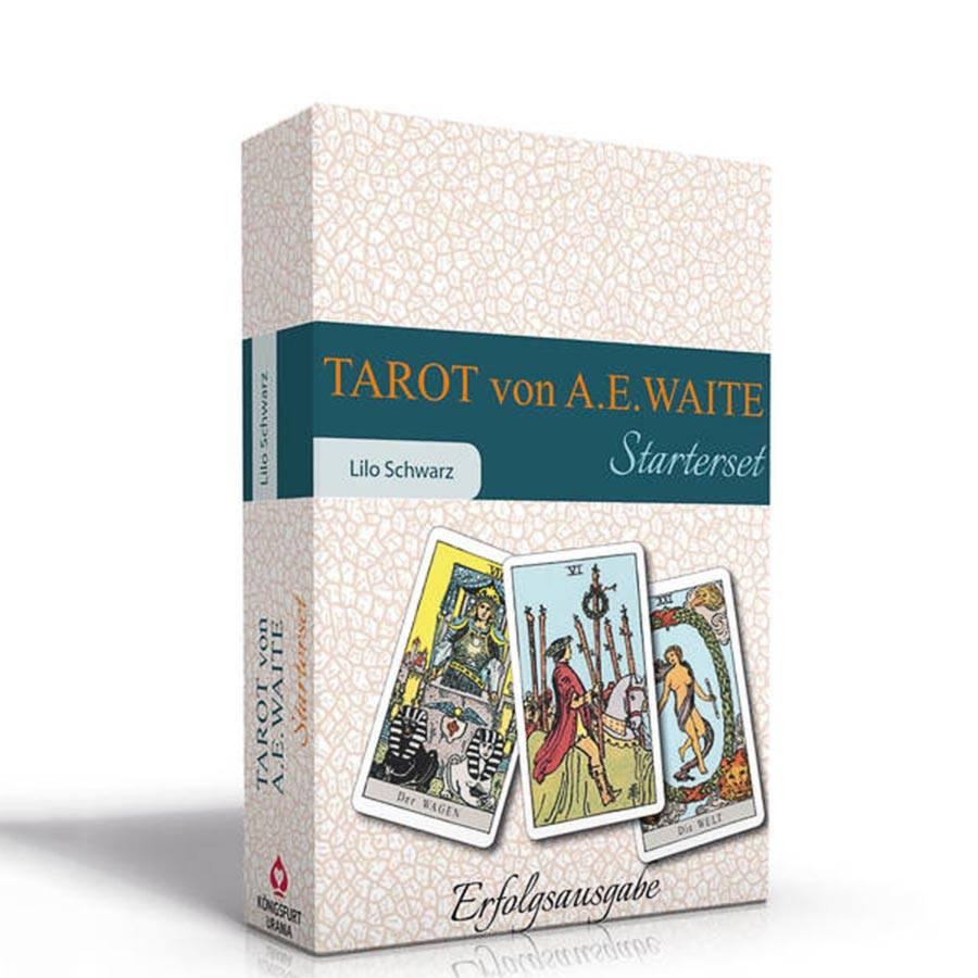 Tarot von A.E. Waite - Das Starterset mit Begleitbuch von Lilo Schwarz