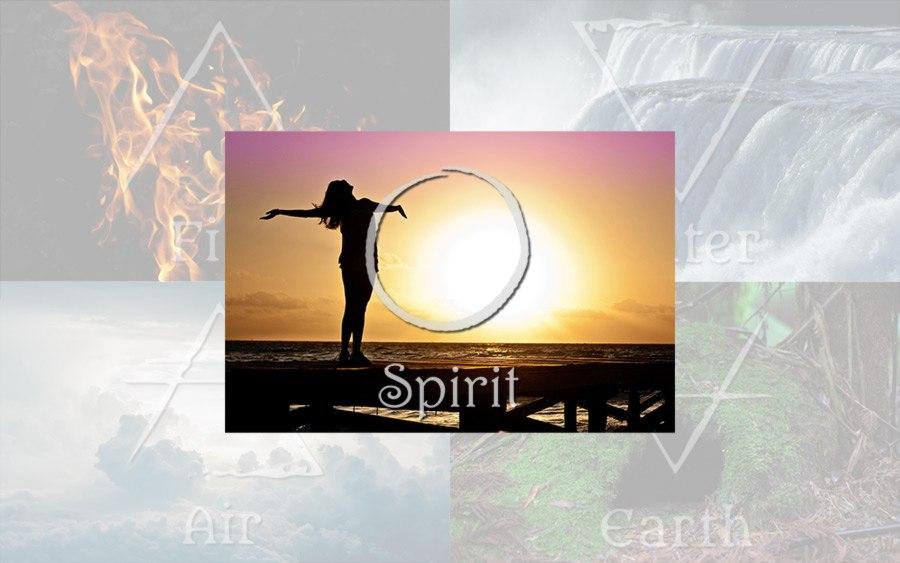 Symbolbild für das fünfte Element - Den Geist