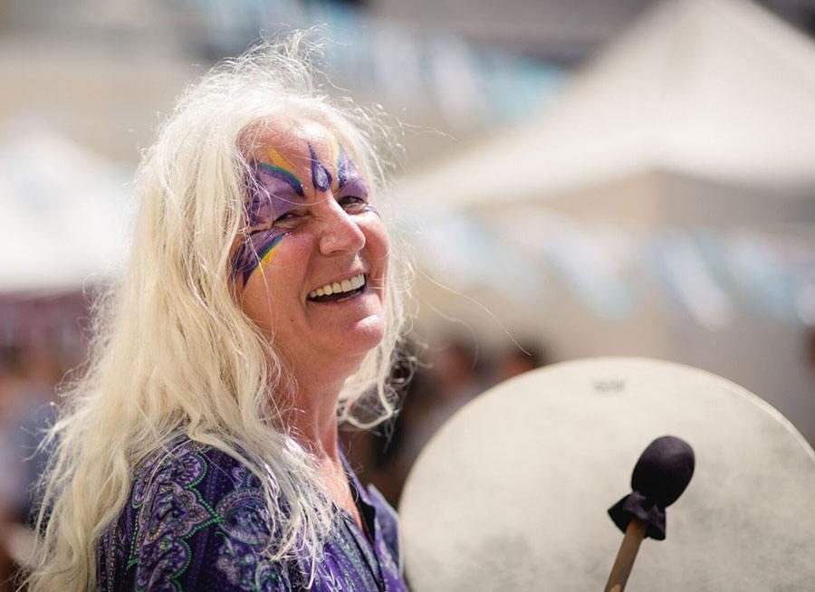Live Konzert der Ritualmusik mit Peti Songcatcher in der Hexerey