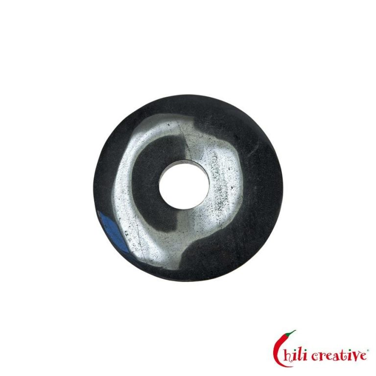 Kleiner Hämatit Donut, 30 mm Durchmesser