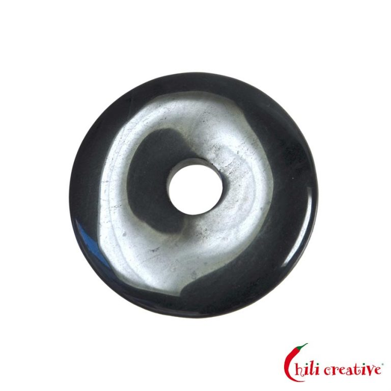 Mittelgroßer Hämatit Donut, 40 mm Durchmesser