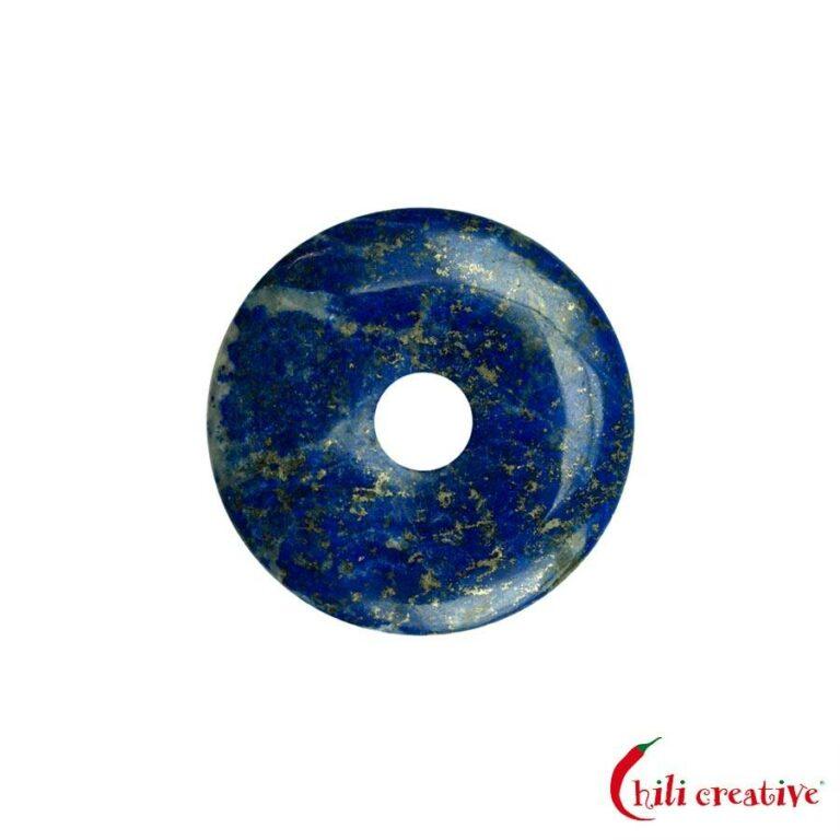 Kleiner Lapislazuli Donut - 30 mm Durchmesser, Qualität AA/A+