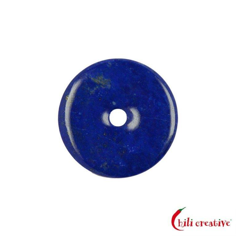 Kleiner Lapislazuli Donut - 30 mm Durchmesser, Qualität AAA