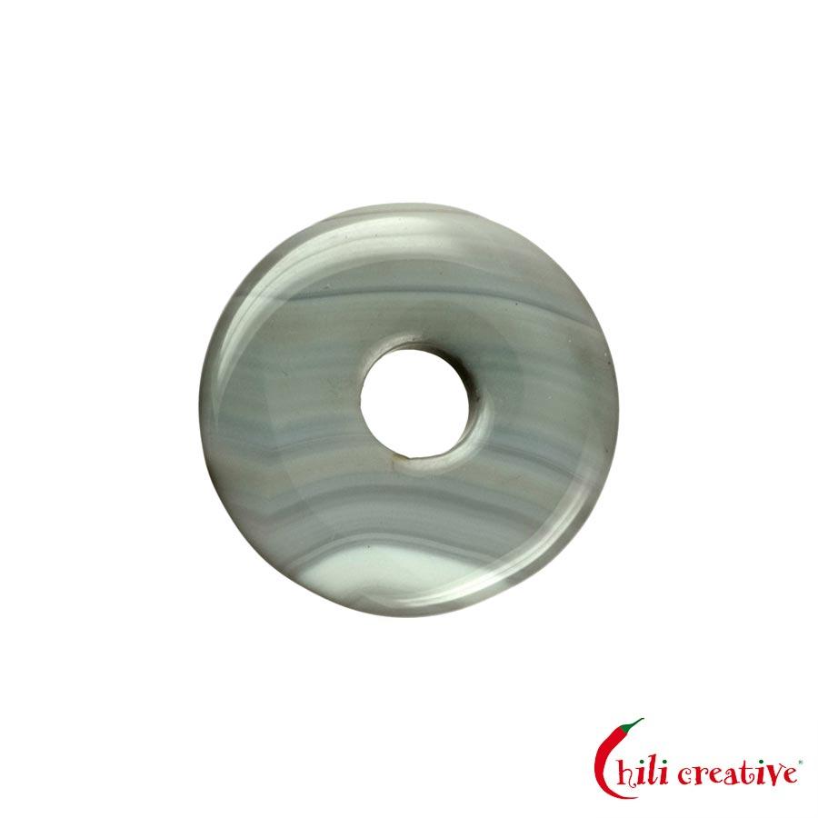 Kleiner Achat Donut, 30 mm Durchmesser