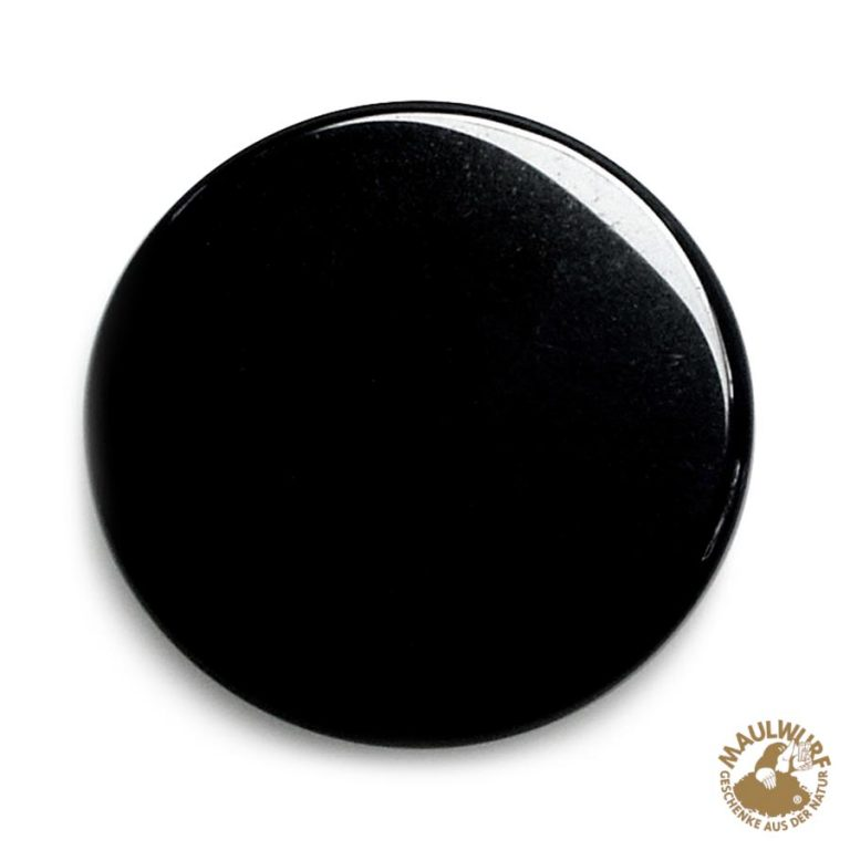 Obsidian-Spiegel 15 cm
