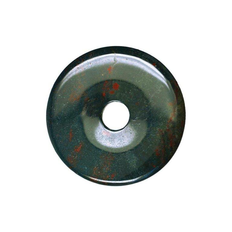 Mittelgroßer Heliotrop Donut, 40 mm Durchmesser