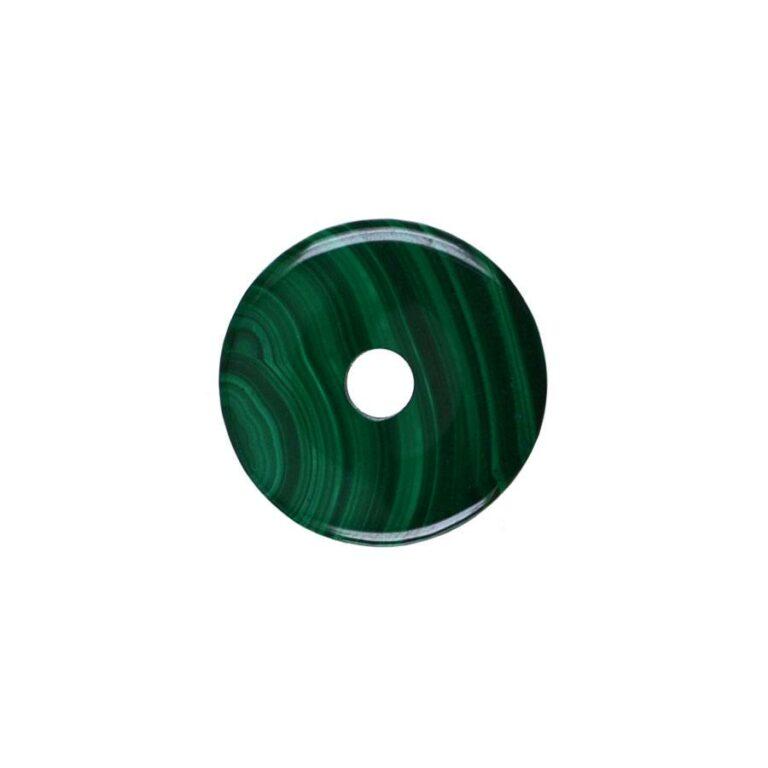 Malachit Donut, 25 mm Durchmesser