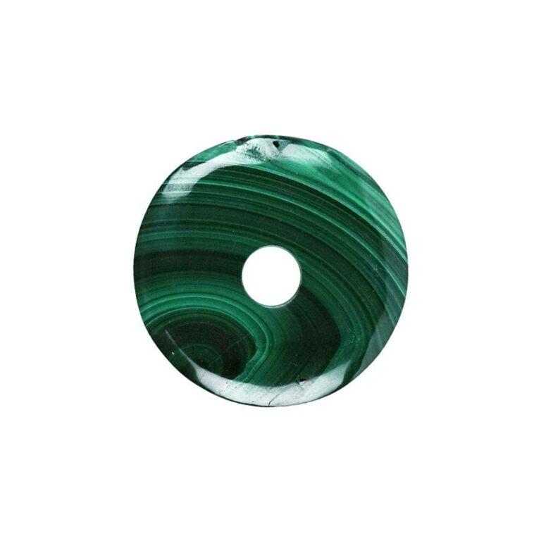 Malachit Donut, 28-32 mm Durchmesser