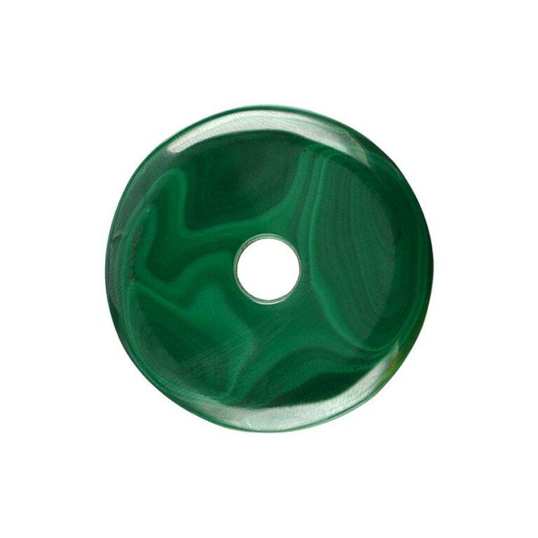 Malachit Donut, 40 mm Durchmesser