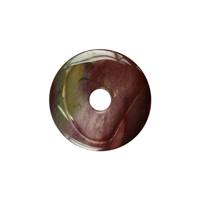 Kleiner Mookait Donut, 30 mm Durchmesser