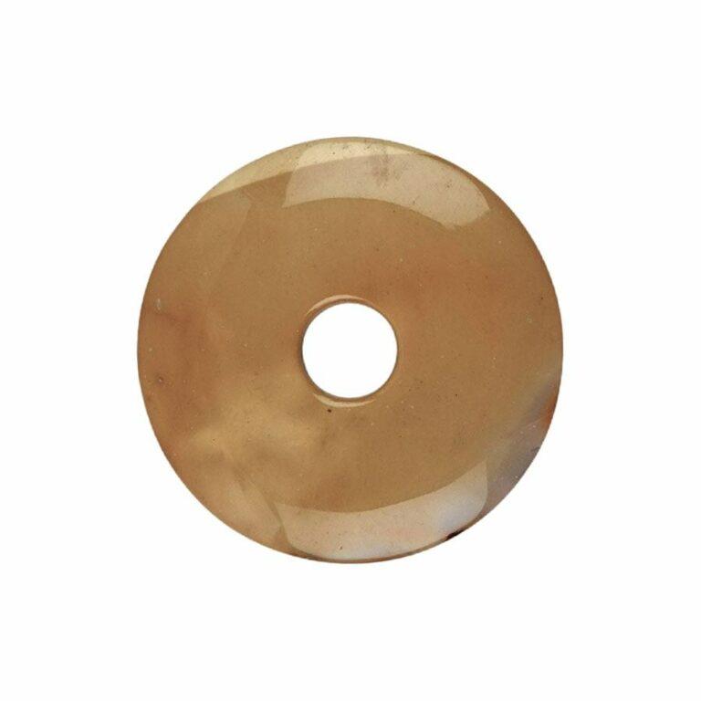 Mittelgroßer Mookait Donut, 40 mm Durchmesser