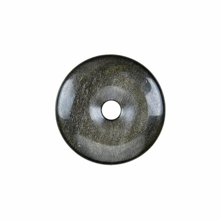 Kleiner Obsidian (Goldglanzobsidian) Donut, 30-35 mm Durchmesser