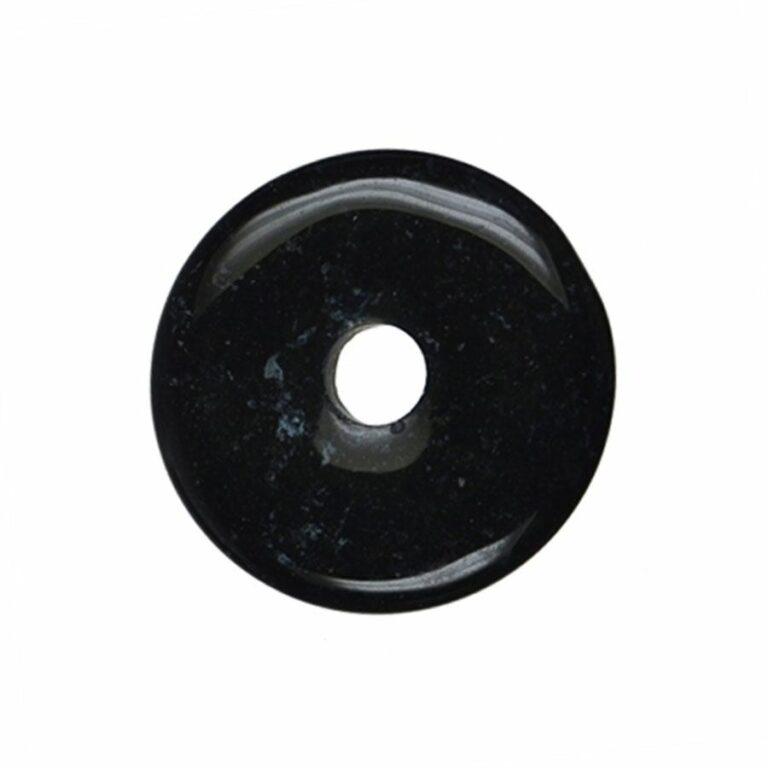 Mittelgroßer Onyx Donut, 40 mm Durchmesser