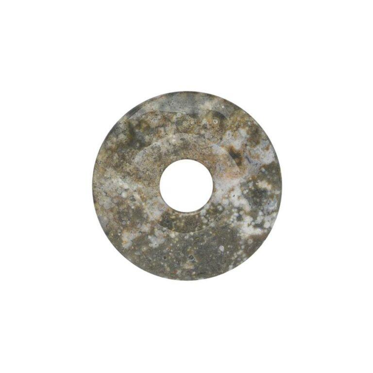 Kleiner Ozeanjaspis Donut, 30 mm Durchmesser