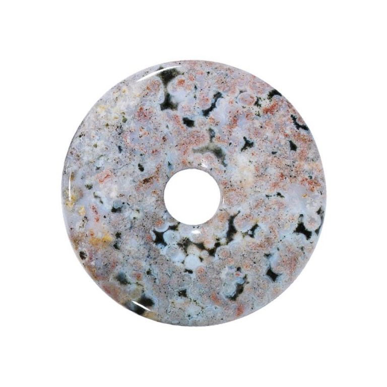 Mittelgroßer Ozeanjaspis Donut, 40 mm Durchmesser
