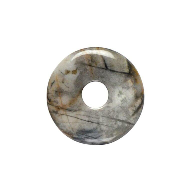 Kleiner Picassomarmor Donut, 30 mm Durchmesser