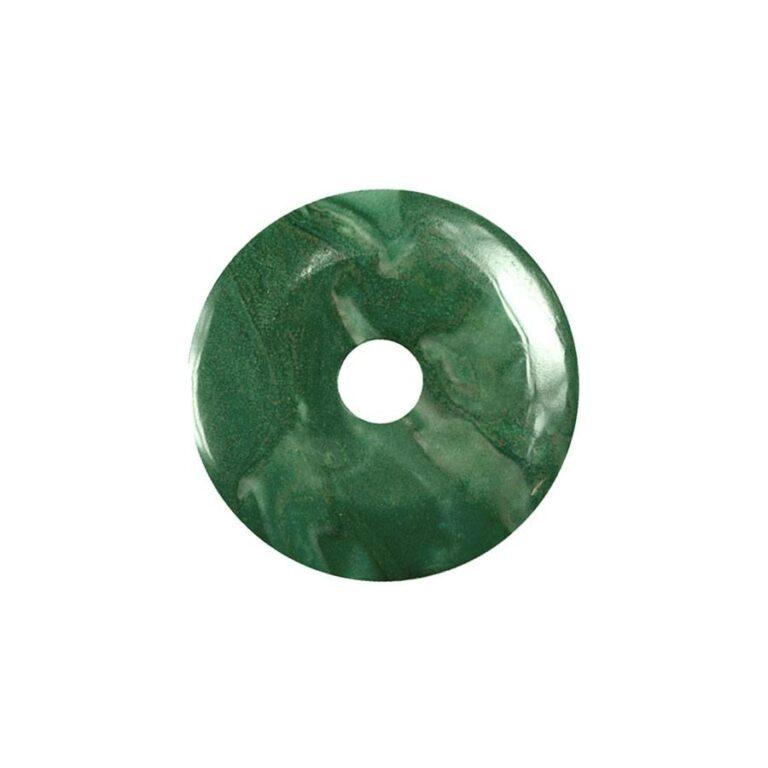 Kleiner Prasem Donut, 30 mm Durchmesser