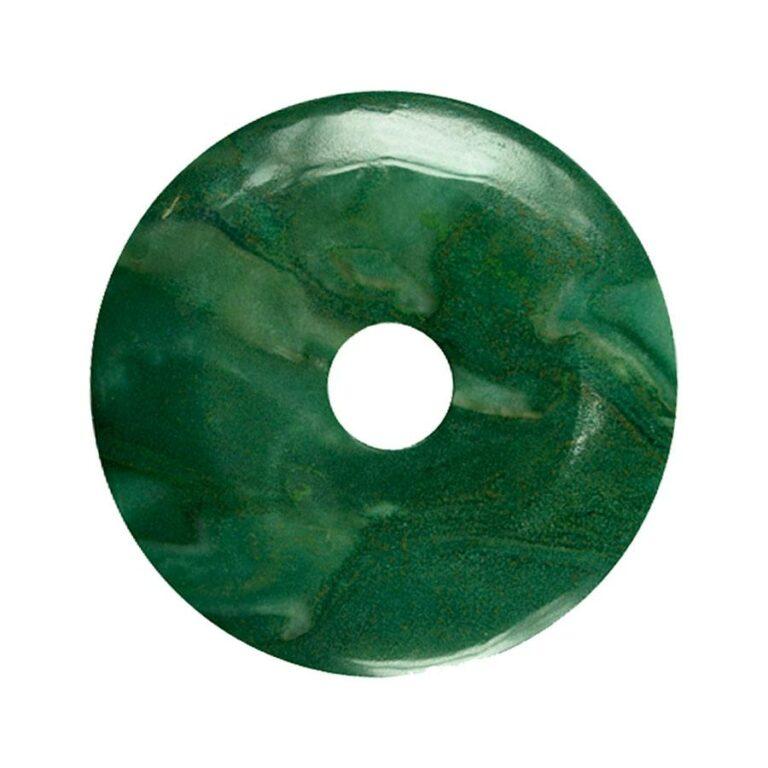 Großer Prasem Donut, 50 mm Durchmesser