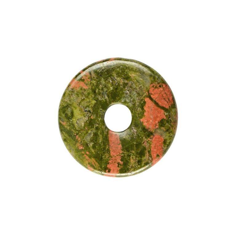 Kleiner Unakit Donut, 30 mm Durchmesser