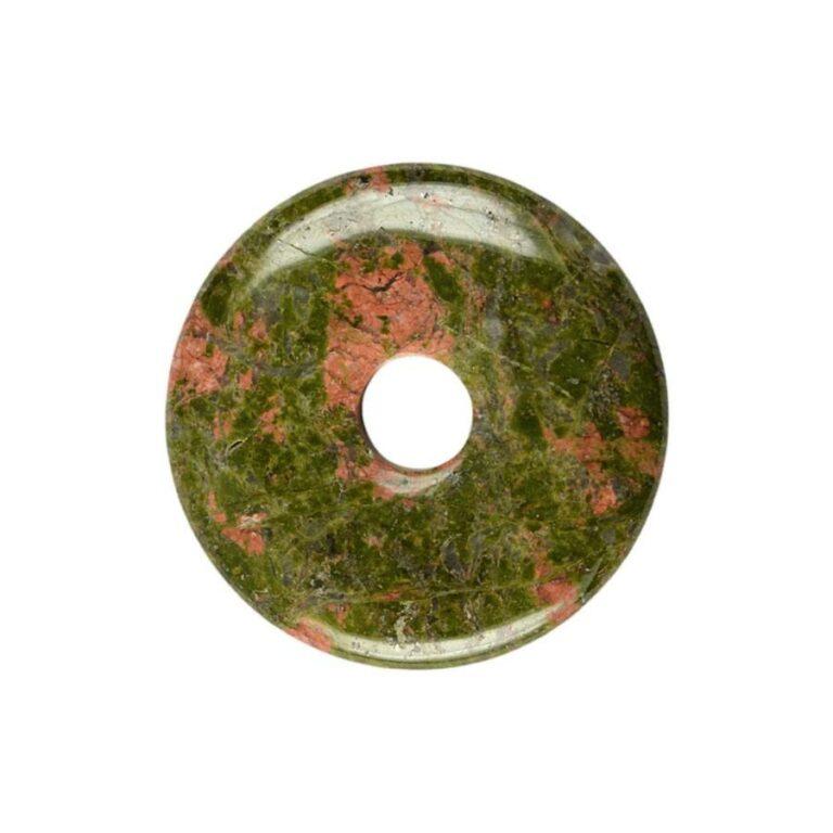 Mittelgroße Unakit Donut, 40 mm Durchmesser