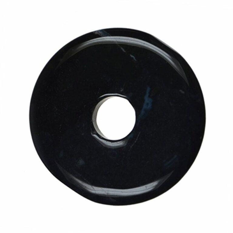 Großer Onyx Donut, 50 mm Durchmesser