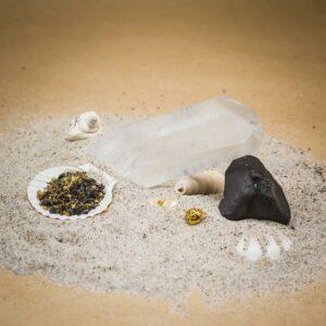 Stressabbau mit Bergkristall, Schungit und Yin&Yang