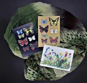 Beispiele für Postkarten mit Naturmotiven